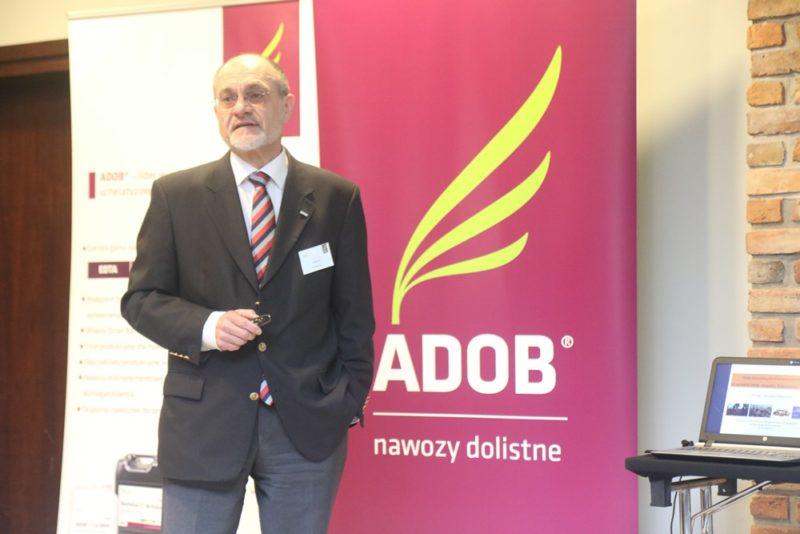 Adam Nawrocki, prezes i właściciel firmy ADOB