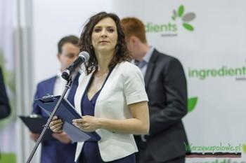 Uroczystego otwarcia dokonała Agnieszka Szpaderska Manager Targów WorldFood Warsaw