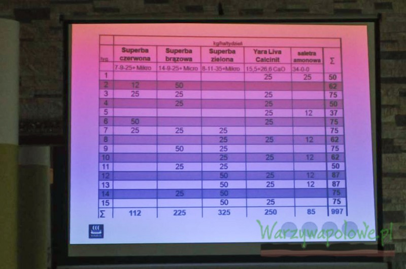 Wiele pytań wzbudził program nawożenia ogórków gruntowych