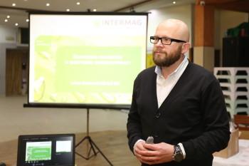 Łukasz Kutermach z firmy Intermag