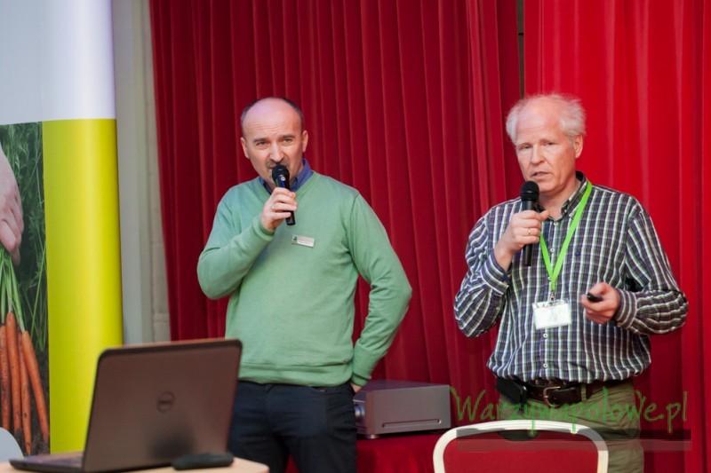 Wojciech Wasiak i Christian Spangenberg przedstawili trendy w uprawie warzyw w Niemczech