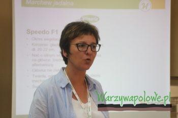 Małgorzata Zadura przedstawia charakterystykę odmian marchwi z gamy Hazera Poland
